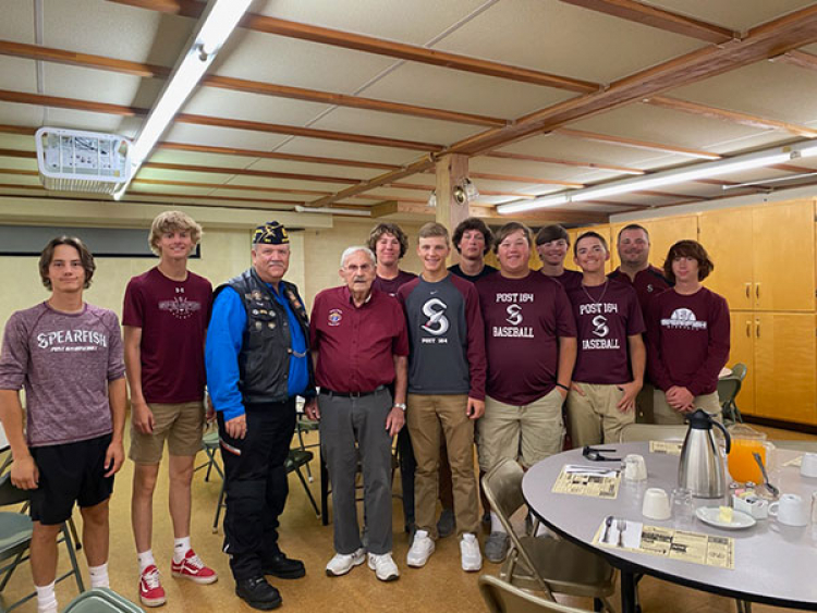 Fundraiser for Spearfish American Legion Baseball