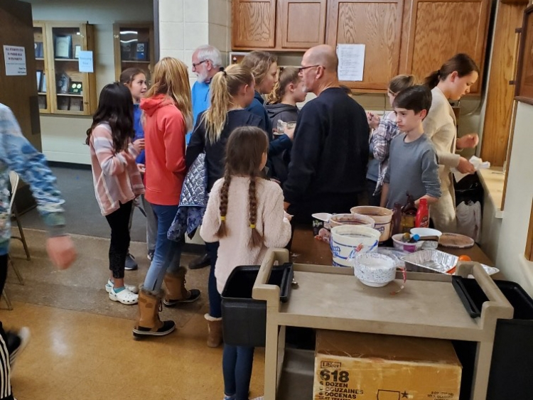Knights feed 40 EPIC kids and parents